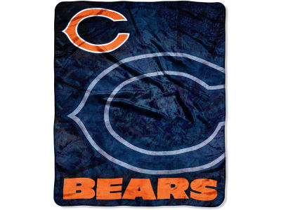 Chicago Bears 50x60in Plush Throw Roll Out