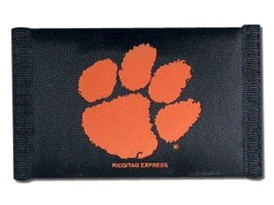 Clemson Tigers Nylon Wallet