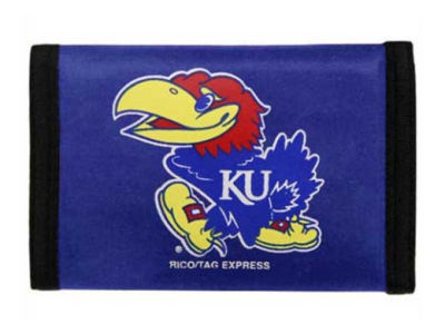 Kansas Jayhawks Nylon Wallet