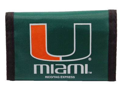 Miami Hurricanes Nylon Wallet