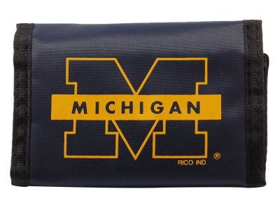 Michigan Wolverines Nylon Wallet