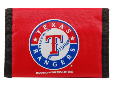 Texas Rangers Rico Industries Nylon Wallet