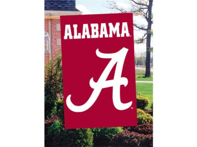 Alabama Crimson Tide Applique House Flag
