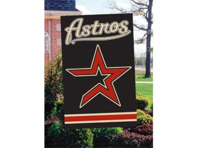 Houston Astros Applique House Flag