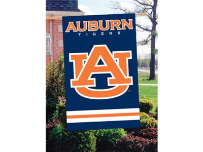 Auburn Tigers Applique House Flag