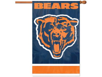 Chicago Bears Applique House Flag