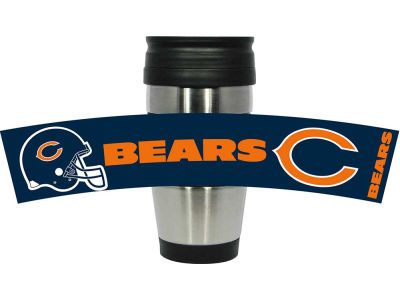 Chicago Bears Stainless Steel Travel Tumbler