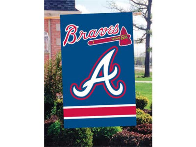 Atlanta Braves Applique House Flag