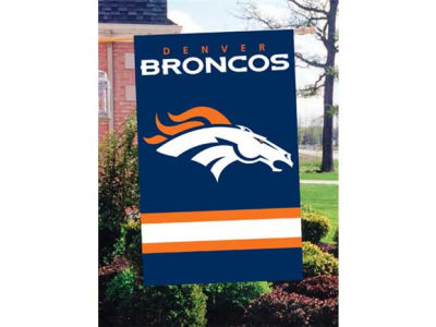 Denver Broncos Applique House Flag