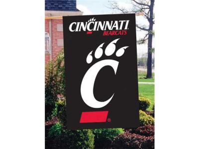 Cincinnati Bearcats Applique House Flag