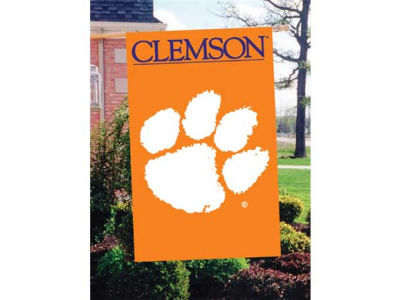 Clemson Tigers Applique House Flag