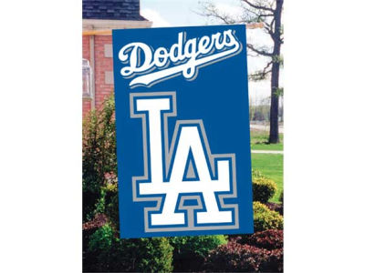 Los Angeles Dodgers Applique House Flag