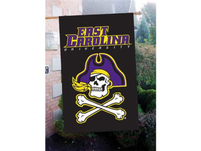 East Carolina Pirates Applique House Flag