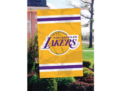 Los Angeles Lakers Applique House Flag