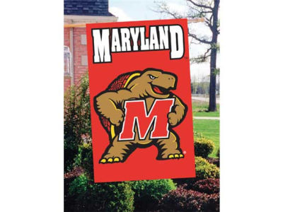 Maryland Terrapins Applique House Flag