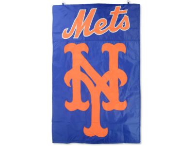 New York Mets Applique House Flag