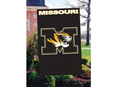 Missouri Tigers Applique House Flag