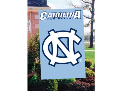 North Carolina Tar Heels Applique House Flag
