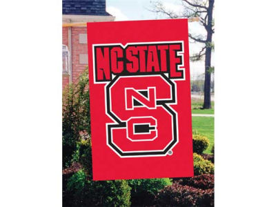 North Carolina State Wolfpack Applique House Flag