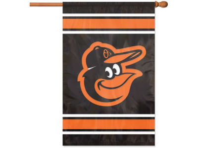 Baltimore Orioles Applique House Flag