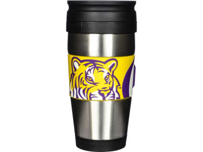 LSU Tigers Stainless Steel Travel Tumbler