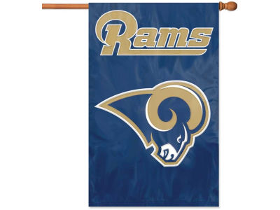 Los Angeles Rams Applique House Flag