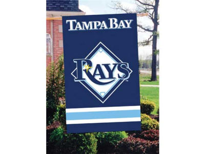 Tampa Bay Rays Applique House Flag
