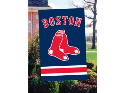 Boston Red Sox Applique House Flag