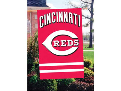 Cincinnati Reds Applique House Flag