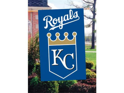 Kansas City Royals Applique House Flag