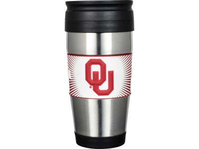 Oklahoma Sooners Stainless Steel Travel Tumbler