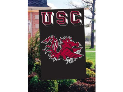 South Carolina Gamecocks Applique House Flag
