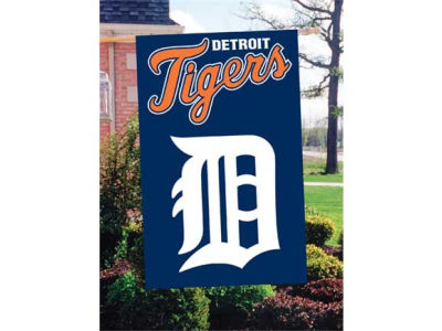 Detroit Tigers Applique House Flag