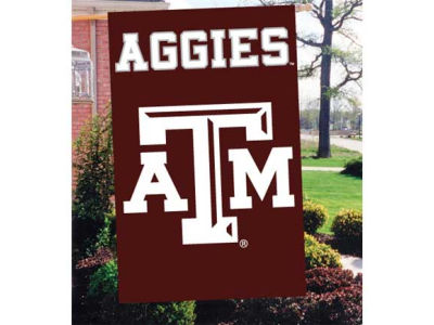 Texas A&M Aggies Applique House Flag