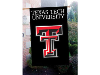 Texas Tech Red Raiders Applique House Flag