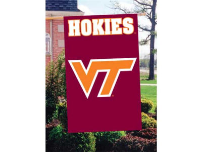 Virginia Tech Hokies Applique House Flag