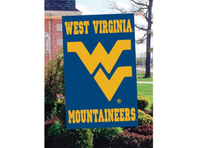West Virginia Mountaineers Applique House Flag