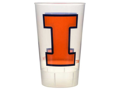 Illinois Fighting Illini Single Plastic Tumbler