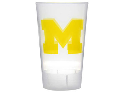Michigan Wolverines Single Plastic Tumbler