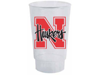 Nebraska Cornhuskers Single Plastic Tumbler