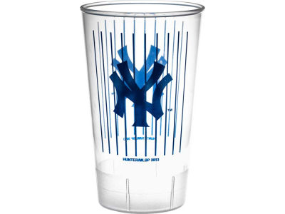 New York Yankees Single Plastic Tumbler