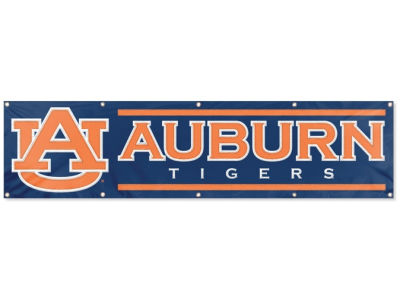 Auburn Tigers 8-FT Banner