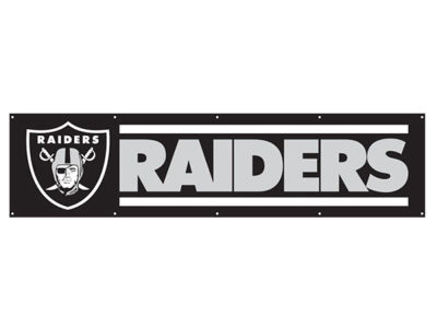 Oakland Raiders 8-FT Banner