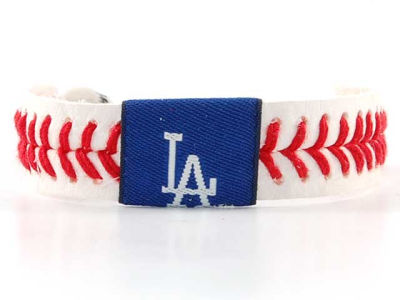 Los Angeles Dodgers Baseball Bracelet