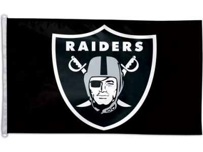 Oakland Raiders 3x5ft Flag