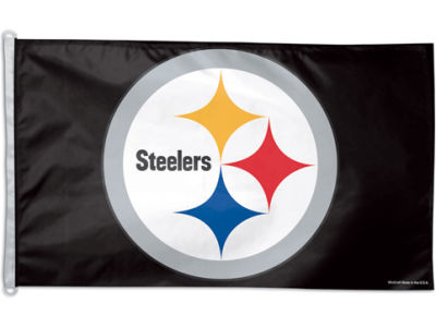 Pittsburgh Steelers 3x5ft Flag
