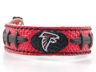Atlanta Falcons Team Color Football Bracelet