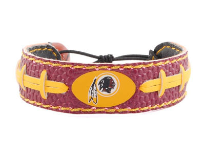 Washington Redskins Team Color Football Bracelet
