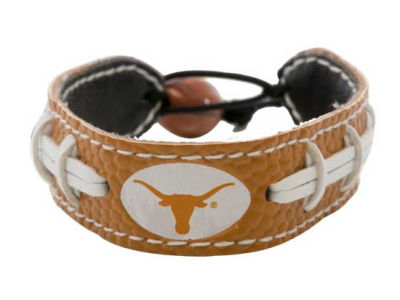 Texas Longhorns Team Color Football Bracelet