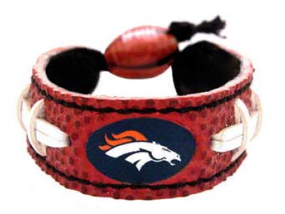 Denver Broncos Football Bracelet